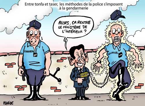 Placide sarkozy la gendarmerie de lamotte beuvron 04 - Gendarme dessin ...