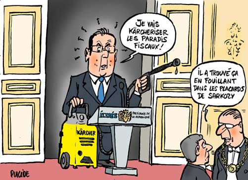 Hollande l'incorruptible
