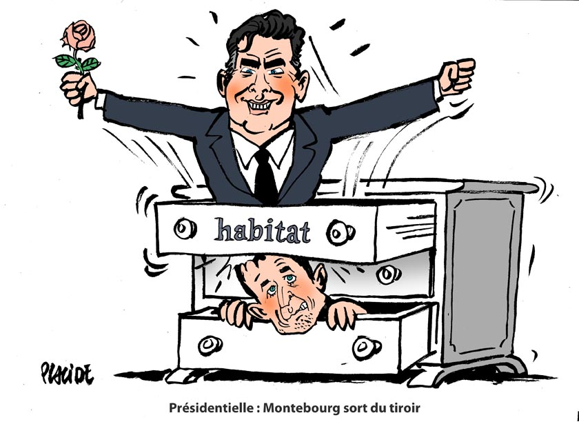 Montebourg officialise sa candidature